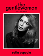The GENTLEWOMAN Magazine #15 S/S 2017 Sofia Coppola Inez & Vinoodh  NEW