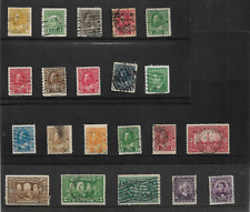 CANADA KING GEORGE V LOW VALUE DEFINITIVES + OTHERS  REF 3389