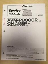 Pioneer Service Manual for the AVM-P8000R AV Master Unit    mp