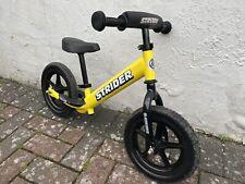 Stryder Sport 12 Balance Bike, Yellow