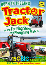 TRACTOR JACK At The Farming Show & Ploughing Match Children's DVD with songs