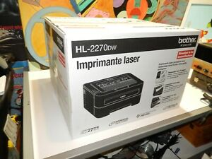 BROTHER HL-2270DW Compact Laser Printer Wireless Networking. new never use. fair