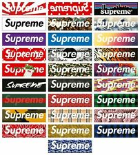 168 SUPREME STICKER MIXED PACK 2020