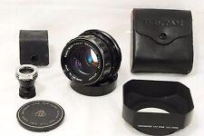 Excellent Pentax SMC TAKUMAR 105mm f/2.4 for 6x7 67 MF Lens w/ Hood Bonus (1518)