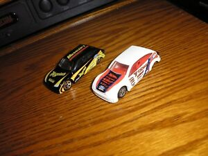 Lot of 2 Different Hot Wheels Ford Focus Pro Street Dragsters Street Racers