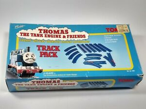 Thomas the Tank Engine & Friends Blue Tomy Curved Straight Rail Track Pack 1995