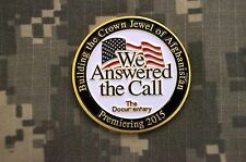 Building the Crown of Afghanistan 2015 We Answered the Call Challenge Coin