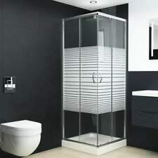 vidaXL Douchecabine Veiligheidsglas Cabine Omheining Douche Cabines Douches