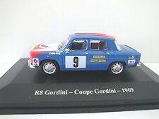 "1/43 . RENAULT 8 Gordini "" Coupe Gordini "" 1969    ELIGOR"