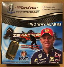 Two Way THMarine Car Alarm & Keyless Entry w/ LCD Remote Control