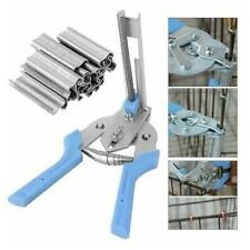 Clamp Hog Ring Pliers Wire Clamp Pliers Standard Cage Tools K5W9