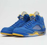 Air Jordan 5 Retro JSP Laney CD2720-400 Varsity Royal Basketball Shoes Sneakers