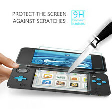 Top+Bottom Tempered Glass Screen Protector Film Guard For Nintendo New 2DS LL/XL