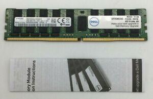 Dell 64GB RAM QRX4 DDR4 LRDIMM 2400MHz A8711890 SNP29GM8C/64G *NOB*