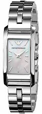 Emporio Armani Classic Silver/Mother of Pearl Quartz Women's Watch AR0733