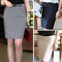 New Women Skinny Pencil Work Office Party Above Knee Slim Fit Mini Skirt Fashion