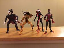 Marvel Legends- Venompool Lot (No BAF) Venom Gwen, Mile Morales, Phage, Morbius