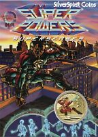 2014 YOUNG COLLECTORS SUPERPOWERS SERIES SUPERSENSES Coin in Card