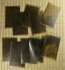Antique Film Negative / Rural Scenes / Set of 10 / Japanese / c. 1920s