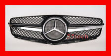Mercedes W204 C300 C350 C230 Grille Grill 1 FIN Black MESH Center AMG SLS Style
