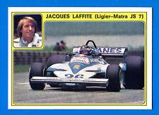 SUPER AUTO - Panini 1977 -Figurina-Sticker n. 16 - JACQUES LAFFITTE -New