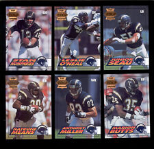 1994 CE Pop Warner San Diego Chargers Set JUNIOR SEAU STAN HUMPHRIES MARION BUTT