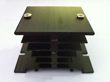 New Heat Sink for Solid State Relay SSR Black