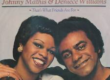 JOHNNY MATHIS & DENIECE WILLIAMS LP ALBUM THAT'S WHAT FRIENDS ARE FOR