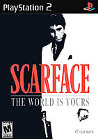 Scarface: The World is Yours (Sony PlayStation 2, 2006) Ps2 Disc Only Tested