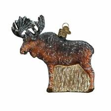 Vintage Moose Ornament Old World Christmas New Woodland Collection
