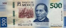 More details for mexico - 2020 (2018) 500 pesos unc banknote