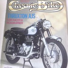 Classic Bike Magazine Thruxton AJS CSR Racer March 1991 071817nonrh2