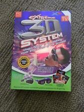 X3D Extreme 3D System for PC New in Box (2002) 3D gaming Software