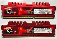 DDR3 21300 2666MHz F3-2666C12Q-32GTXD ✔✅ G.SKILL Trident X Series 16GB 2x8GB