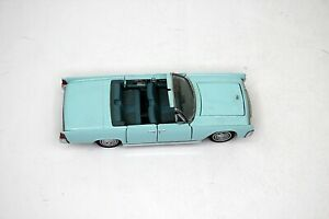 1961 Lincoln Continental Blue1:43 Scale Diecast Franklin Mint 1989 NICE