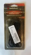 RADIOSHACK 6-FT SHIELDED ATTENUATING DUBBING CABLE  P/N: 42-2461