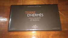 Terre D'Hermes by Hermes Men 3 PC Mini Set Pure Parfum + EDT + FRAICHE 12.5 ML