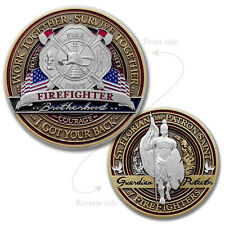 """Louisiana Fallen Firefighter 2019 Ceremony Challenge Coin 2/"""" NEW"""