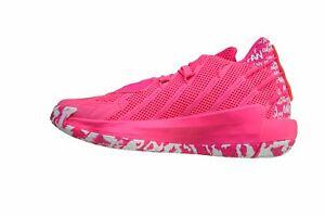 Adidas Men Dame 7 Limited Basketball Shoe Pink *eBay Authentication Guaranteed*