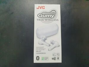 JVC Gumy True Wireless Headphones/Earbuds - Coconut White - Brand New & Sealed