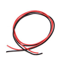 14AWG Gauge Silicone Wire Stranded Copper Flexible Cable 10 Feet Fr RC Black Red