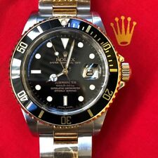 AUTHENTIC ROLEX SUBMARINER 2-TONE 16613