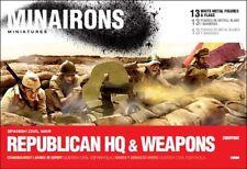Minairons 1:72 Republican HQ & weapons - 20mm Spanish Civil War