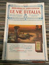 LE VIE D'ITALIA - ANNO XXXII N° 6 - GIUGNO 1926 - TOURING CLUB ITALIANO