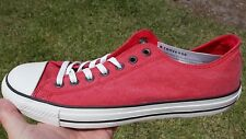 Converse VARSITY RED Chuck Taylor All Star LOW OX  Size 10 130023C  NEW