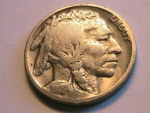 1918-D Buffalo Nickel Good+ (G+) Full Date Grey Tone Indian Head 5 Cent USA Coin