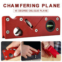 Woodworking Hand Tool Planing Wiping Trimming Edge Corner Planer Chamfer Plane
