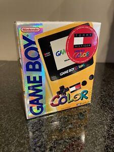 BRAND NEW Nintendo Gameboy Color TOMMY HILFIGER Edition Sealed GBC Game Boy