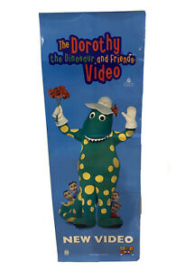 dorothy the dinosaur And Friends Vintage Poster Wiggles 1999 Abc