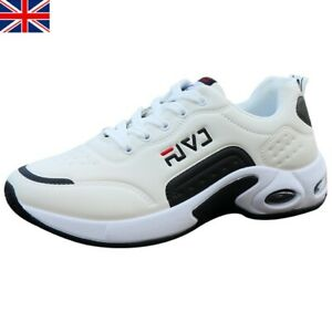 UK Mens Sports Shoes Womens Trainers Casual Gym Fitness Lace Up Running Sneakers